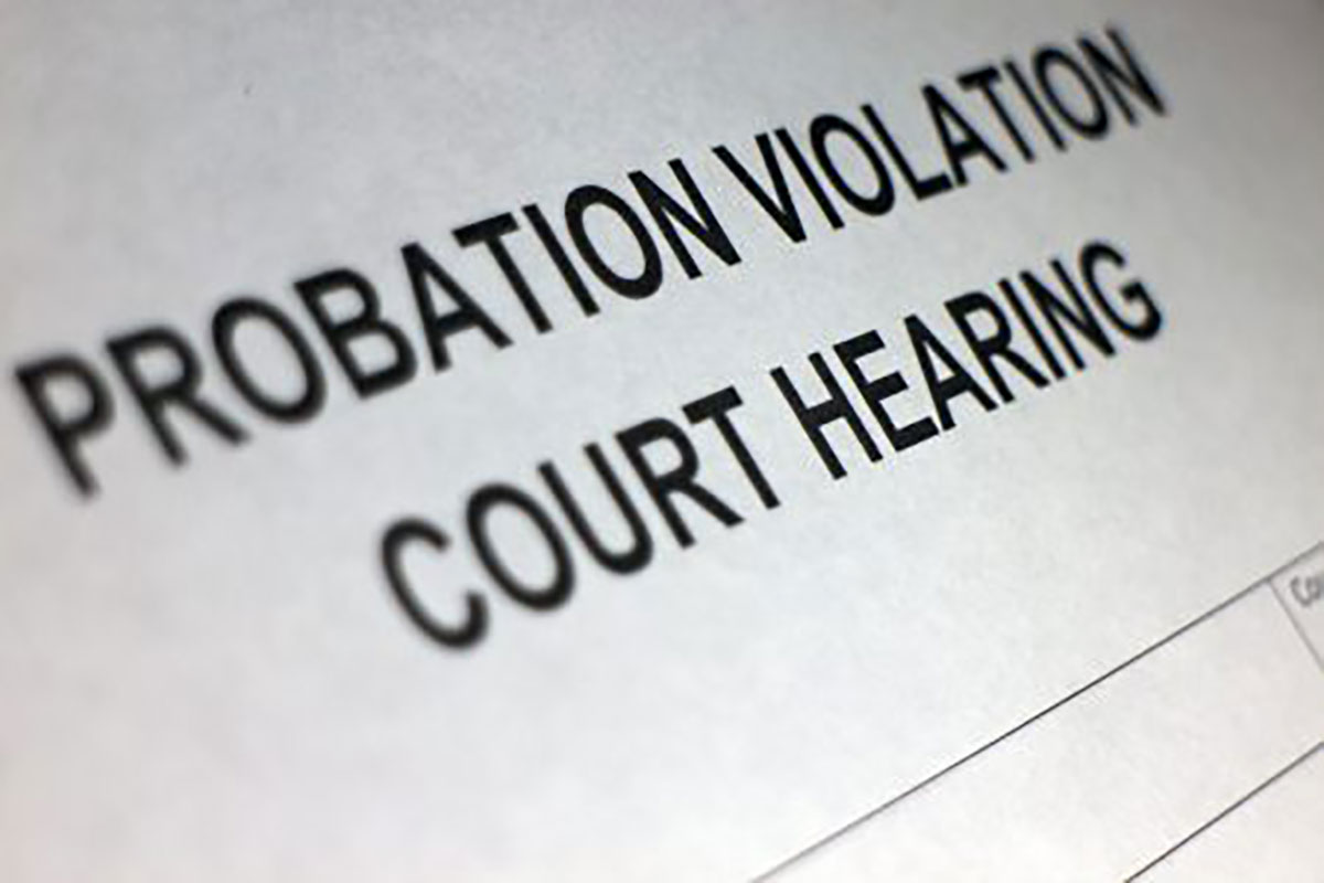 Common Probation Violations And Their Consequences